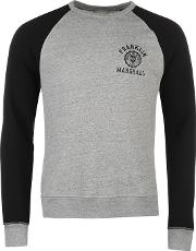 Franklin And Marshall , 2 Tone Crew Sweater
