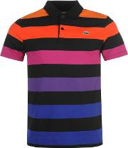 Lacoste , Block Stripe Polo Shirt