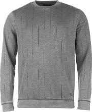 Only And Sons , Broke Strip Crew Sweater