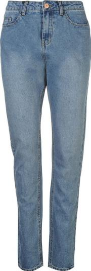 Noisy May , Donna High Waisted Womens Jeans