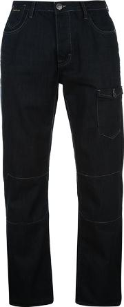 Crafted , Pocket Mens Jeans