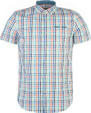 Mish Mash , Dover Check Short Sleeved Shirt