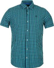 Duck And Cover , Farley Gingham Mens Shirt