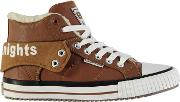 British Knights , Roco Fur Trainers Junior