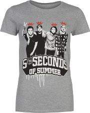 Official , 5 Seconds Of Summer T Shirt Ladies
