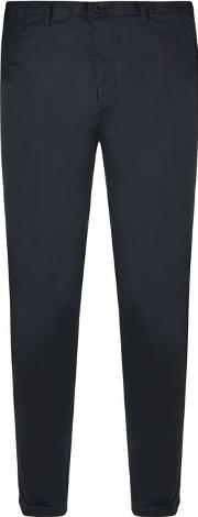 Dkny , Fit Turn Up Trousers