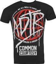 Official , A Day To Remember Adtr T Shirt Mens