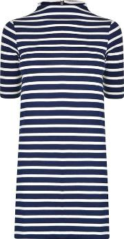 French Connection , Terry Striped Dress