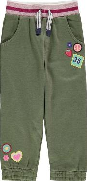 Crafted , Badge Fashion Joggers Child Girls