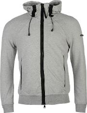 Duck And Cover , District Zip Hoodie
