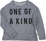 Name , It One Of A Kind Crew Knit Sweater Jn62