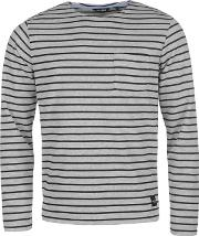 Only And Sons , Pally Stipe Crew Sweater