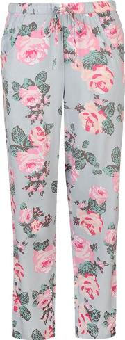 Rock And Rags , Summer Rose Pyjama Bottoms