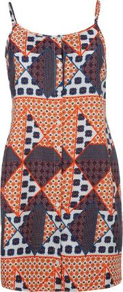 Rock And Rags , Printed Dress