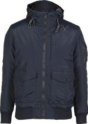 Duck And Cover , Hooded Jacket