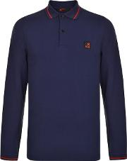 K100 Karrimor , Neon Long Sleeve Polo Shirt