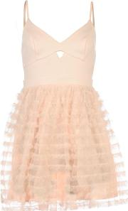 Lipsy , Ariana Grande Ruffle Dress