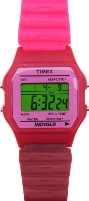 Timex , Mens 80s Classic Digital Watch