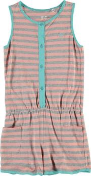French Connection , Stripe Playsuit Junior Girls