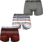 Soviet , Striped 3 Pack Boxers