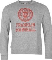 Franklin And Marshall , Crew Sweater