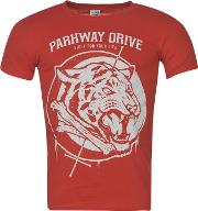 Official , Parkway Drive T Shirt Mens