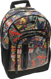 Marvel , Black Backpack Mens