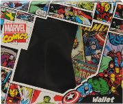 Marvel , Retro Red Bi Fold Wallet Mens