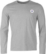 Converse , Long Sleeved Crew T Shirt By