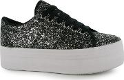 Jeffrey Campbell , Play Zomg Glitter Trainers
