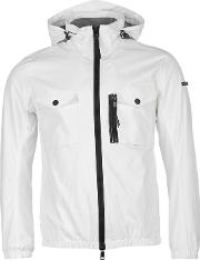 Duck And Cover , Chrome Nylon Lightweight Jacket