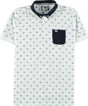 Weekend Offender , Print Polo Shirt