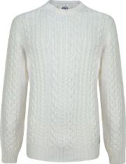 Franklin And Marshall , Cable Knit Jumper