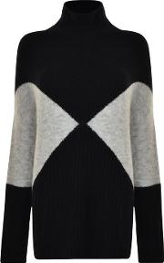 High Neck Pull Over Jumper