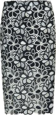 Boutique Moschino , Floral Pencil Skirt