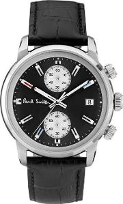 Paul Smith , Block Leather Watch