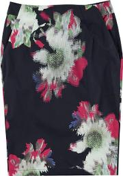 French Connection , Wilderness Bloom Pencil Skirt