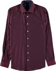Lindbergh , Herringbone Cotton Shirt