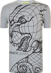 Versace Jeans , Global Tiger T Shirt