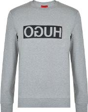 Hugo By Hugo Boss , Dicago Crew Neck Sweatshirt