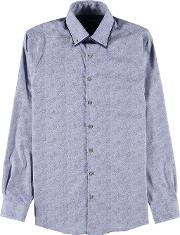 Lindbergh , Paisley Double Collar Shirt