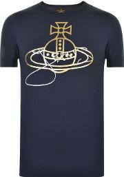 Vivienne Westwood Anglomania , Orb Print T Shirt