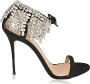 Carrie Crystal Heeled Sandals