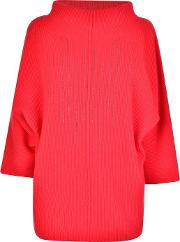 Ribbed Metalic Trim Jumper