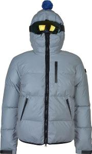 Ai Riders On The Storm , Reflective Down Jacket