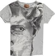 Pearly King , Mens Statue Print T Shirt