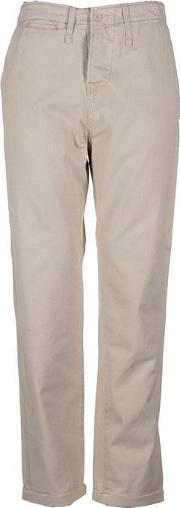 Unknown , Mens Yardstick Stone Chino Trousers