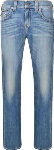 True Religion , Relaxed Straight Ricky Jeans