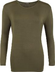 Carol Jersey Basic Long Sleeve Top