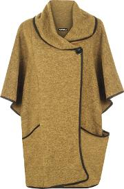 Esme Knitted Button Neck Poncho
